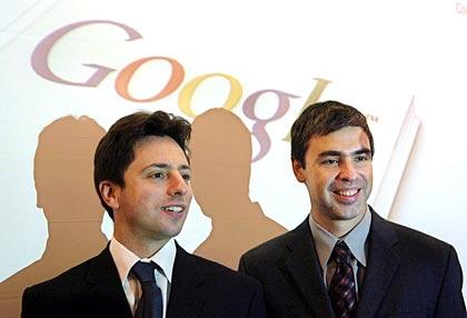 Google二人の創始者
